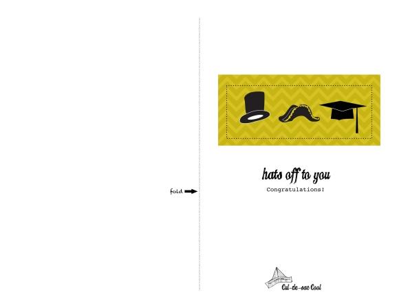 graduation card templates free